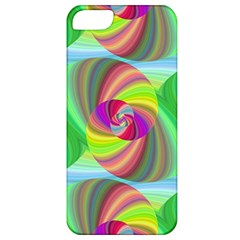 Seamless Pattern Twirl Spiral Apple Iphone 5 Classic Hardshell Case by Sapixe