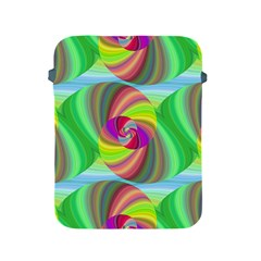 Seamless Pattern Twirl Spiral Apple Ipad 2/3/4 Protective Soft Cases by Sapixe