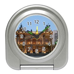 Municipal Theatre Of Sao Paulo Brazil Travel Alarm Clocks