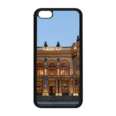 Municipal Theatre Of Sao Paulo Brazil Apple Iphone 5c Seamless Case (black) by Sapixe
