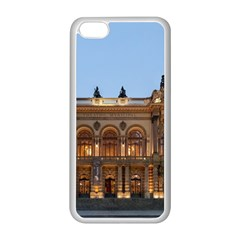 Municipal Theatre Of Sao Paulo Brazil Apple Iphone 5c Seamless Case (white) by Sapixe