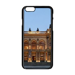 Municipal Theatre Of Sao Paulo Brazil Apple Iphone 6/6s Black Enamel Case by Sapixe