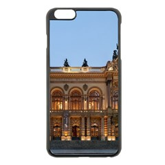 Municipal Theatre Of Sao Paulo Brazil Apple Iphone 6 Plus/6s Plus Black Enamel Case by Sapixe