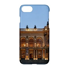 Municipal Theatre Of Sao Paulo Brazil Apple Iphone 7 Hardshell Case by Sapixe