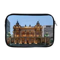 Municipal Theatre Of Sao Paulo Brazil Apple Macbook Pro 17  Zipper Case