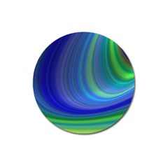 Space Design Abstract Sky Storm Magnet 3  (round) by Sapixe
