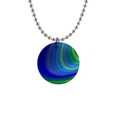 Space Design Abstract Sky Storm Button Necklaces