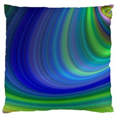 Space Design Abstract Sky Storm Large Flano Cushion Case (two Sides) by Sapixe