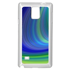 Space Design Abstract Sky Storm Samsung Galaxy Note 4 Case (white)