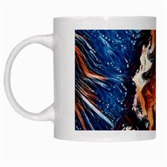 Wow Art Brave Vintage Style White Mugs