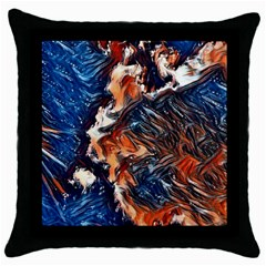 Wow Art Brave Vintage Style Throw Pillow Case (black) by Sapixe