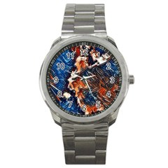 Wow Art Brave Vintage Style Sport Metal Watch by Sapixe