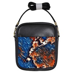 Wow Art Brave Vintage Style Girls Sling Bags by Sapixe