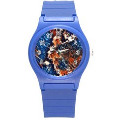 Wow Art Brave Vintage Style Round Plastic Sport Watch (s) by Sapixe