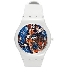 Wow Art Brave Vintage Style Round Plastic Sport Watch (m) by Sapixe