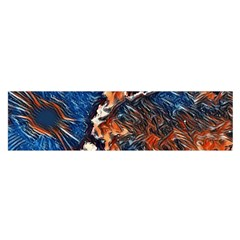 Wow Art Brave Vintage Style Satin Scarf (oblong) by Sapixe