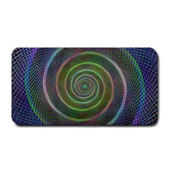 Spiral Fractal Digital Modern Medium Bar Mats by Sapixe
