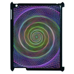 Spiral Fractal Digital Modern Apple Ipad 2 Case (black)
