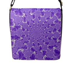 Wallpaper Mandelbrot Desktop Art Flap Messenger Bag (l)  by Sapixe