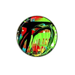 Quiet Place Hat Clip Ball Marker (4 Pack) by bestdesignintheworld