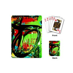 Quiet Place Playing Cards (mini)  by bestdesignintheworld