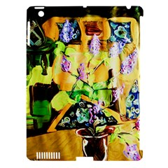 Lilac On A Counter Top 1 Apple Ipad 3/4 Hardshell Case (compatible With Smart Cover) by bestdesignintheworld