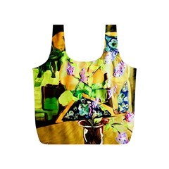 Lilac On A Counter Top 1 Full Print Recycle Bags (s)  by bestdesignintheworld