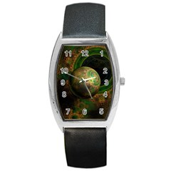 Tiktok s Four Dimensional Steampunk Time Contraption Barrel Style Metal Watch by jayaprime