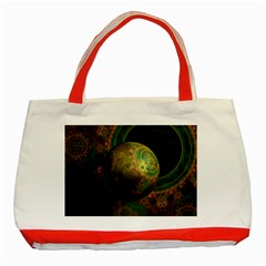Tiktok s Four Dimensional Steampunk Time Contraption Classic Tote Bag (red) by jayaprime