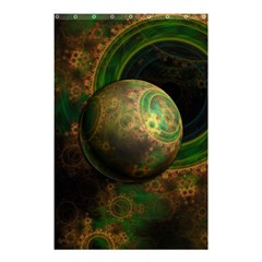 Tiktok s Four Dimensional Steampunk Time Contraption Shower Curtain 48  X 72  (small)  by jayaprime
