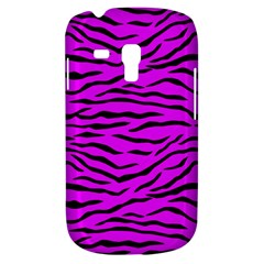 Hot Neon Pink And Black Tiger Stripes Galaxy S3 Mini by PodArtist
