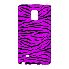 Hot Neon Pink And Black Tiger Stripes Galaxy Note Edge by PodArtist