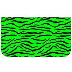 Bright Neon Green And Black Tiger Stripes  Lunch Bag