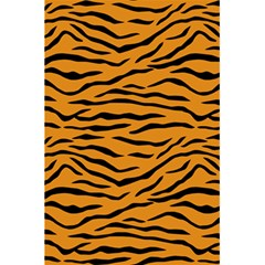 Orange And Black Tiger Stripes 5 5  X 8 5  Notebooks by PodArtist
