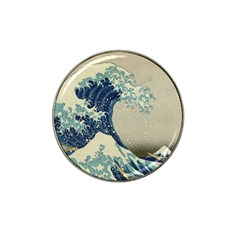 The Classic Japanese Great Wave Off Kanagawa By Hokusai Hat Clip Ball Marker (10 Pack)