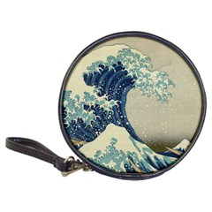 The Classic Japanese Great Wave Off Kanagawa By Hokusai Classic 20 Cd Wallets by PodArtist