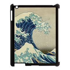 The Classic Japanese Great Wave Off Kanagawa By Hokusai Apple Ipad 3/4 Case (black) by PodArtist