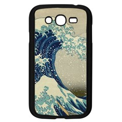 The Classic Japanese Great Wave Off Kanagawa By Hokusai Samsung Galaxy Grand Duos I9082 Case (black) by PodArtist