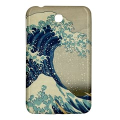 The Classic Japanese Great Wave Off Kanagawa By Hokusai Samsung Galaxy Tab 3 (7 ) P3200 Hardshell Case  by PodArtist