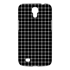 Black And White Optical Illusion Dots And Lines Samsung Galaxy Mega 6 3  I9200 Hardshell Case by PodArtist