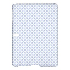 Alice Blue Quatrefoil In An English Country Garden Samsung Galaxy Tab S (10 5 ) Hardshell Case  by PodArtist