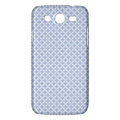 Alice Blue Quatrefoil In An English Country Garden Samsung Galaxy Mega 5 8 I9152 Hardshell Case  by PodArtist