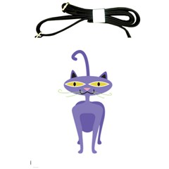 Cat Clipart Animal Cartoon Pet Shoulder Sling Bags by Sapixe