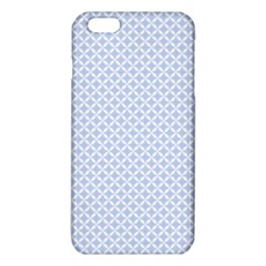 Alice Blue Quatrefoil In An English Country Garden Iphone 6 Plus/6s Plus Tpu Case by PodArtist