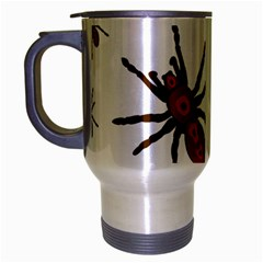 Nature Insect Natural Wildlife Travel Mug (silver Gray) by Sapixe