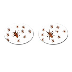Nature Insect Natural Wildlife Cufflinks (oval) by Sapixe