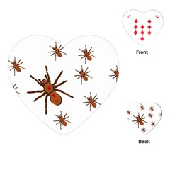 Nature Insect Natural Wildlife Playing Cards (heart)