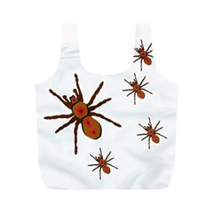 Nature Insect Natural Wildlife Full Print Recycle Bags (m)  by Sapixe