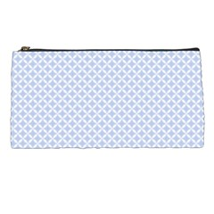 Alice Blue Hearts In An English Country Garden Pencil Cases by PodArtist