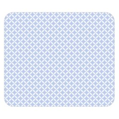 Alice Blue Hearts In An English Country Garden Double Sided Flano Blanket (small)  by PodArtist